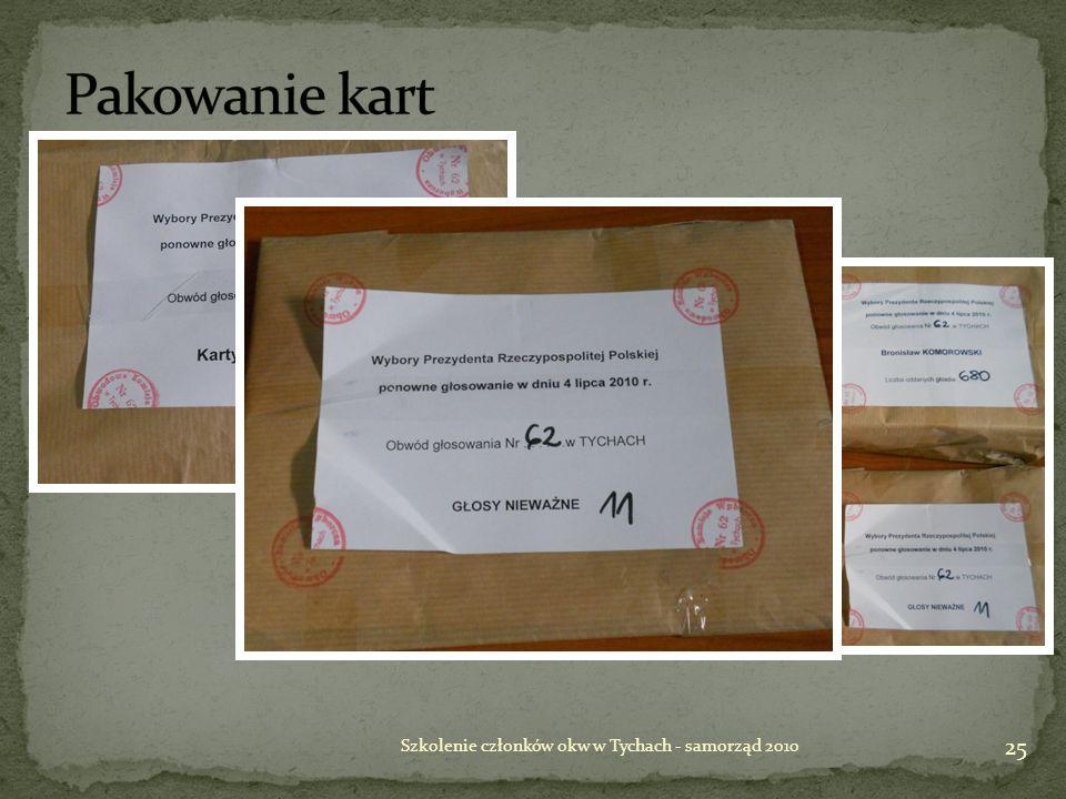 Szkolenie członków okw w Tychach - samorząd 2010 25