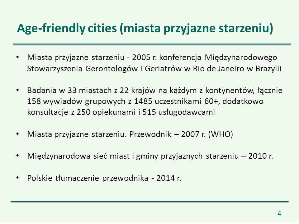 4 Miasta przyjazne starzeniu - 2005 r.
