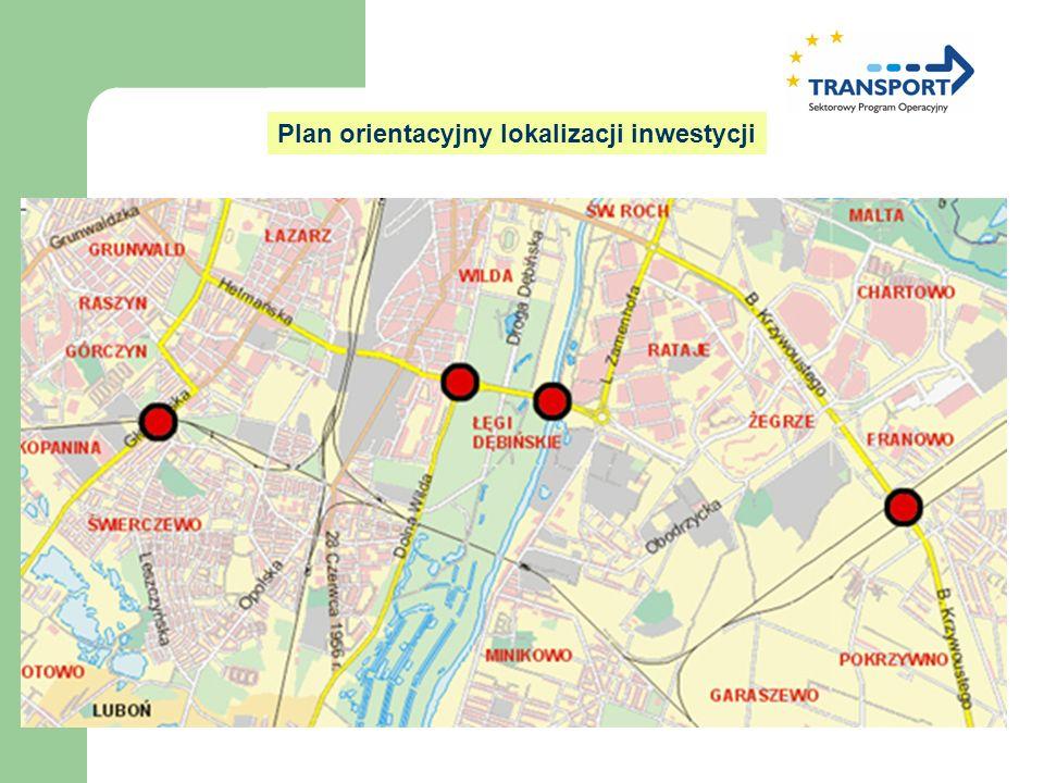 Plan orientacyjny lokalizacji inwestycji