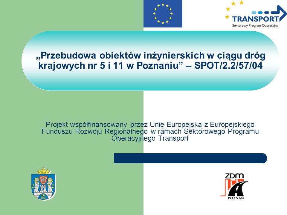 Projekt współfinansowany przez Unię Europejską z Europejskiego Funduszu Rozwoju Regionalnego w ramach Sektorowego Programu Operacyjnego Transport