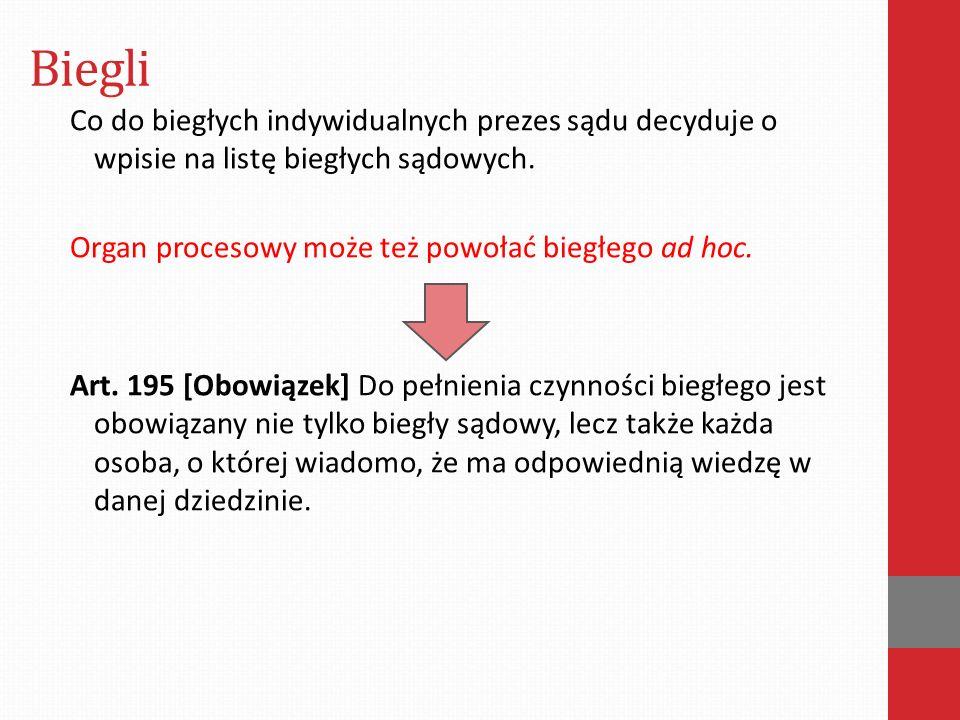 Biegli Art..193 § 2.