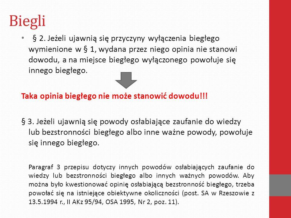 Biegli § 2.