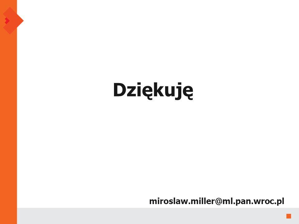 miroslaw.miller@ml.pan.wroc.pl Dziękuję