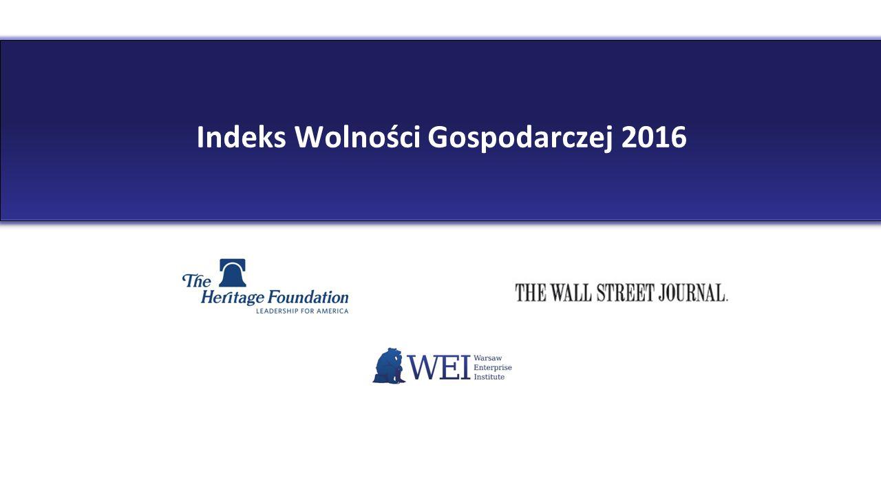 Indeks Wolności Gospodarczej 2016