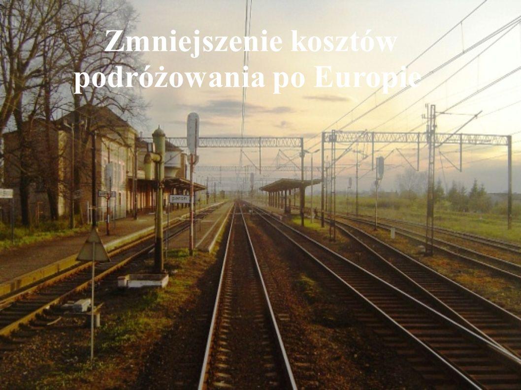 Zmniejszenie kosztów podróżowania po Europie