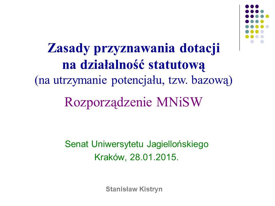 Senat Uniwersytetu Jagiellońskiego Kraków, 28.01.2015.