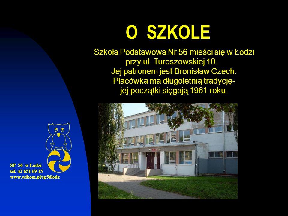O SZKOLE SP 56 w Łodzi tel.