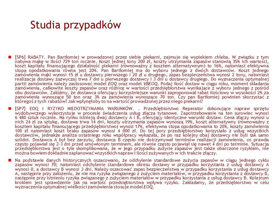 Studia przypadków [SP6] RABATY.