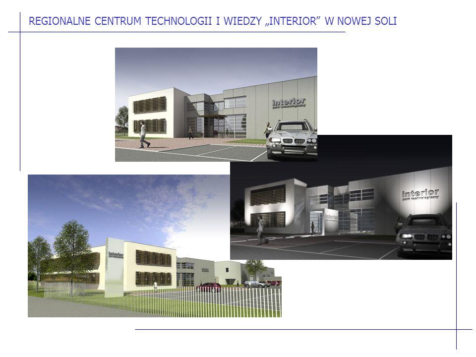 """REGIONALNE CENTRUM TECHNOLOGII I WIEDZY """"INTERIOR W NOWEJ SOLI"""