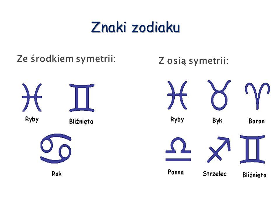 """Środek symetrii figury Środek symetrii – punkt """"S względem którego figura jest symetryczna sama do siebie."""