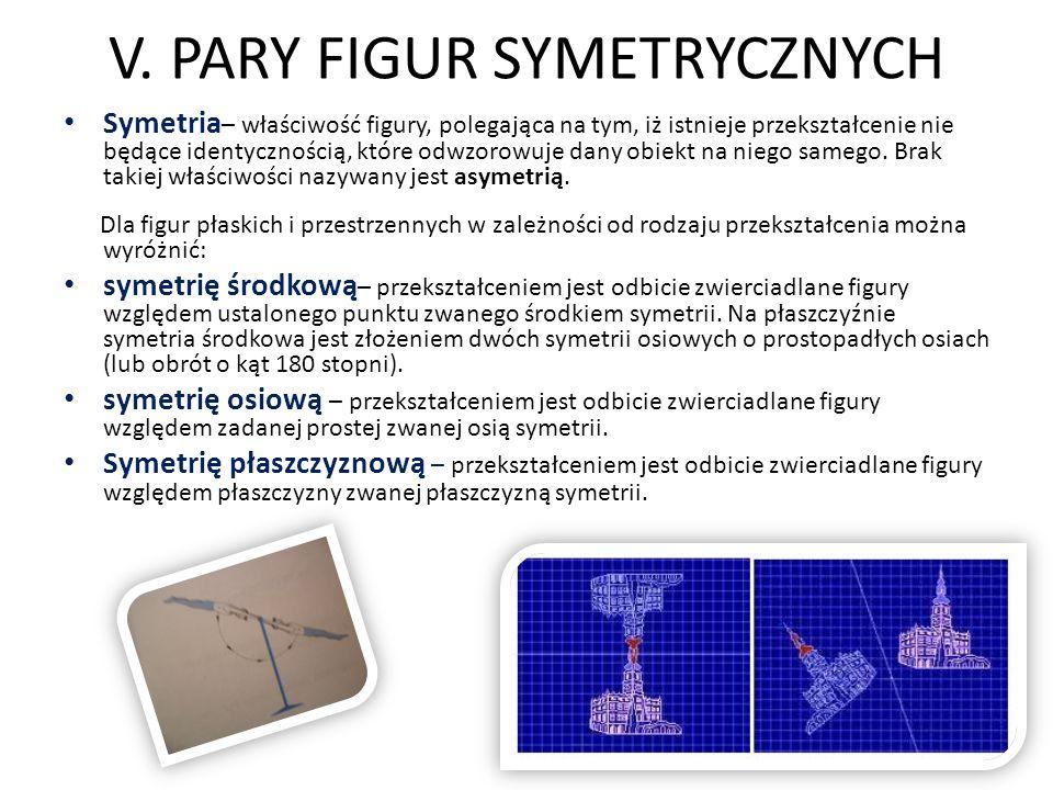Symetria w alfabecie W alfabecie też występuje oś symetrii.