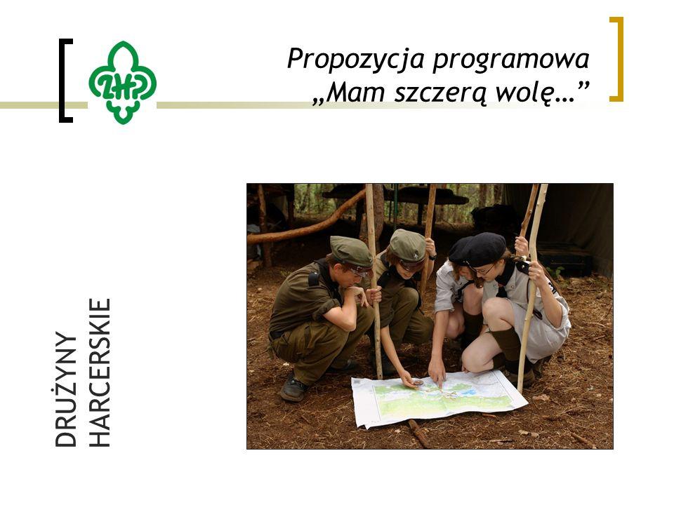"""Propozycja programowa """"Mam szczerą wolę… DRUŻYNY HARCERSKIE"""