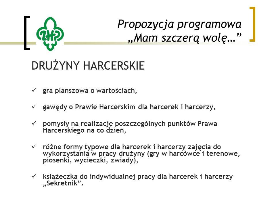 """Propozycja programowa """"Mam szczerą wolę…"""" DRUŻYNY HARCERSKIE gra planszowa o wartościach, gawędy o Prawie Harcerskim dla harcerek i harcerzy, pomysły"""