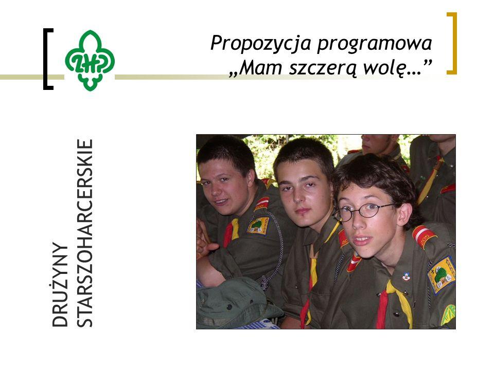 """Propozycja programowa """"Mam szczerą wolę… DRUŻYNY STARSZOHARCERSKIE"""