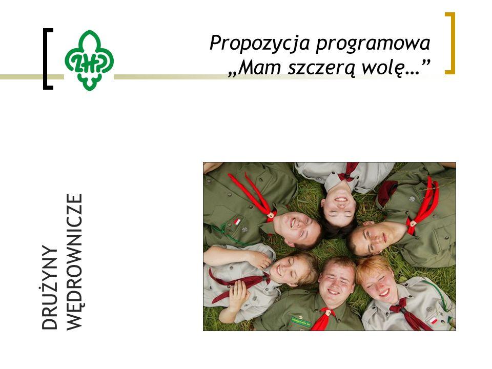 """Propozycja programowa """"Mam szczerą wolę… DRUŻYNY WĘDROWNICZE"""