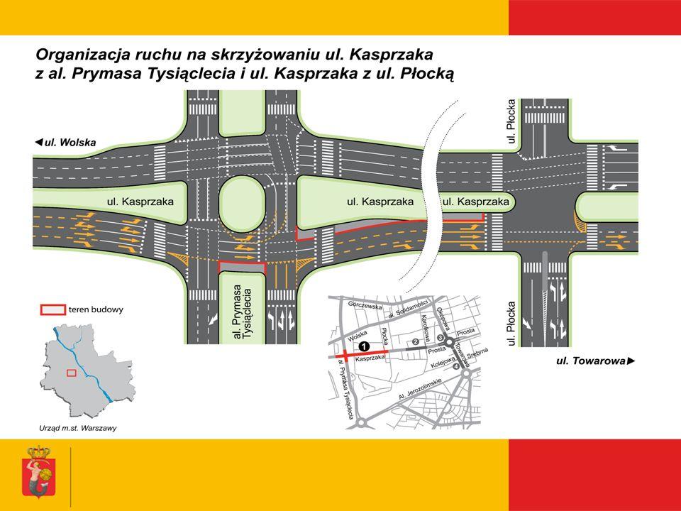 Remont ul. Emilii Plater Biuro Koordynacji Inwestycji i Remontów w Pasie Drogowym
