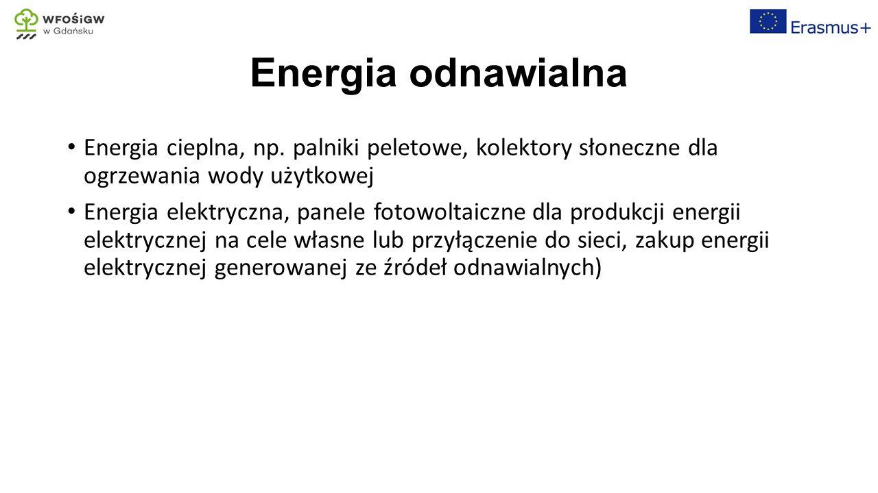 Efektywność energetyczna Odzysk ciepłą odpadowego dzięki wymiennikom ciepła zainstalowanym w przewodzie kominowym (podgrzanie wody użytkowej i technologicznej, ogrzewanie obiegu) Transport surowców i produktów (zakup produktów regionalnych, sezonowych, optymalizacja dostaw i dystrybucji)