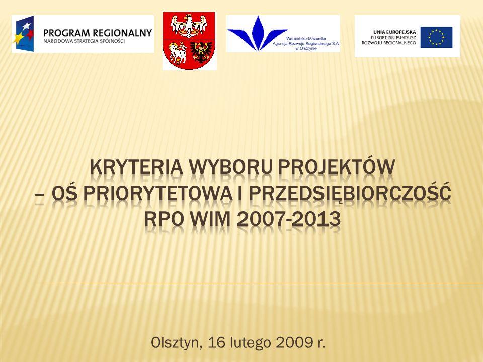 Olsztyn, 16 lutego 2009 r.