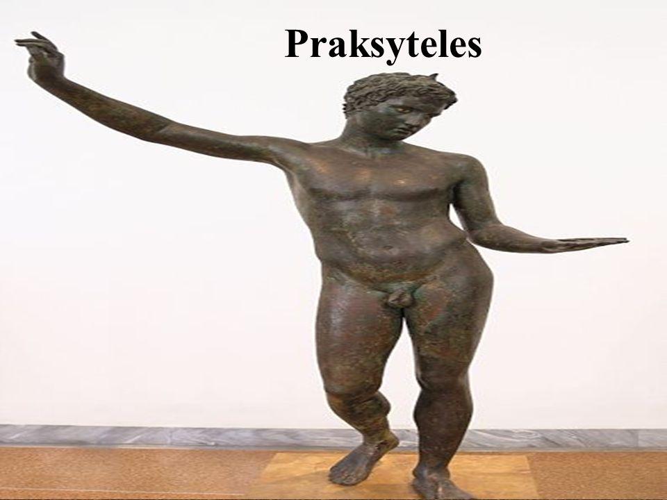 Myron - dyskobol Myron, jeden z najwybitniejszych rzeźbiarzy greckich, tworzący w latach 480-445 p.n.e..