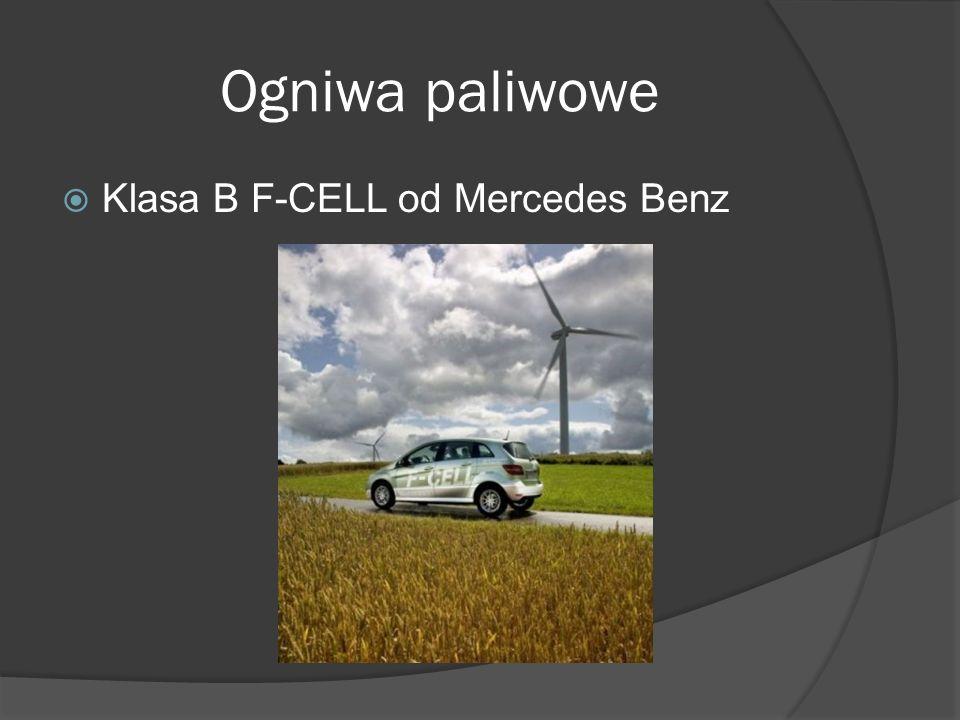 Ogniwa paliwowe  Klasa B F-CELL od Mercedes Benz