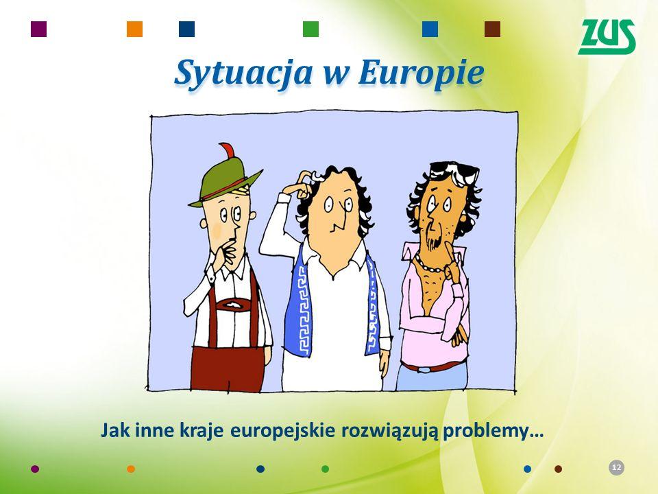 12 Sytuacja w Europie Jak inne kraje europejskie rozwiązują problemy…