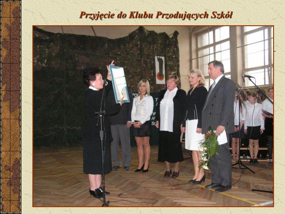 We wrześniu 2010 roku otrzymaliśmy Certyfikat Wojewódzkiej Sieci Szkół Promujących Zdrowie na kolejne pięć lat