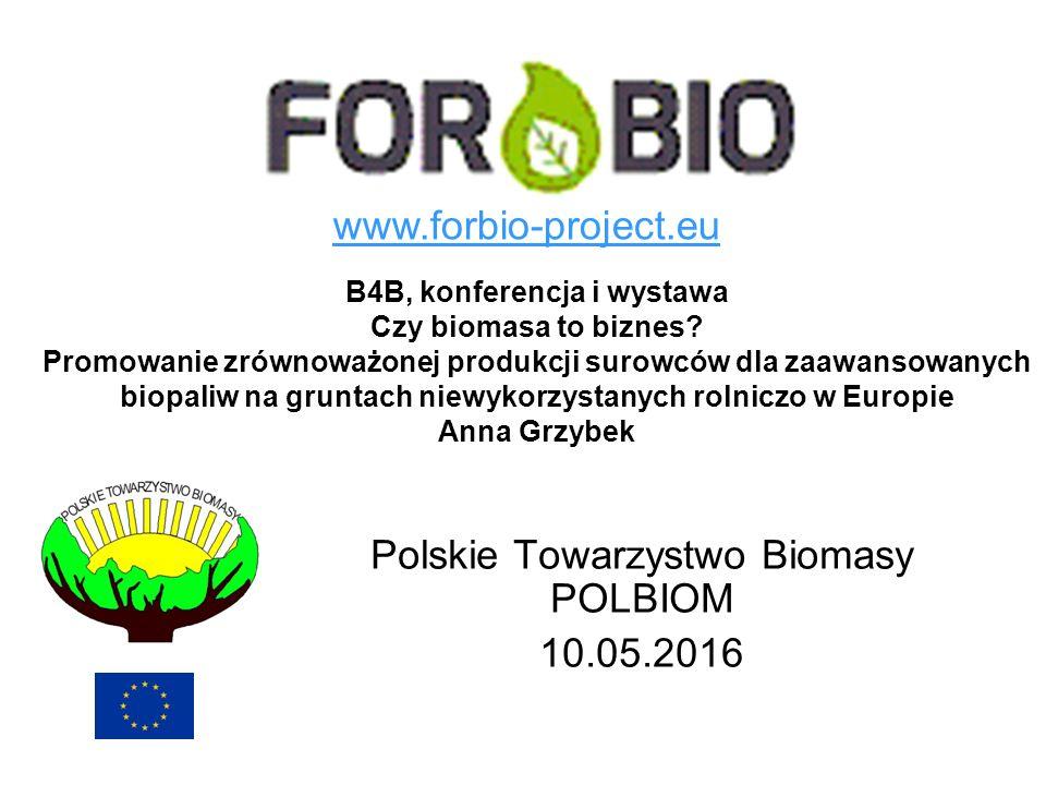 B4B, konferencja i wystawa Czy biomasa to biznes? Promowanie zrównoważonej produkcji surowców dla zaawansowanych biopaliw na gruntach niewykorzystanyc