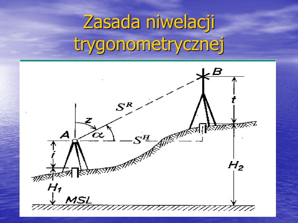 Zasada niwelacji barometrycznej Ciśnienie powietrza maleje wraz ze wzrostem wysokości, Ciśnienie powietrza maleje wraz ze wzrostem wysokości, Zmianie ciśnienia o 1 mm Hg odpowiada zmiana wysokości o około 10 m (poziom morza) Zmianie ciśnienia o 1 mm Hg odpowiada zmiana wysokości o około 10 m (poziom morza) Zmianie ciśnienia o 1 mm Hg odpowiada zmiana wysokości o około 14 m (na poziomie 2000 m) Zmianie ciśnienia o 1 mm Hg odpowiada zmiana wysokości o około 14 m (na poziomie 2000 m)