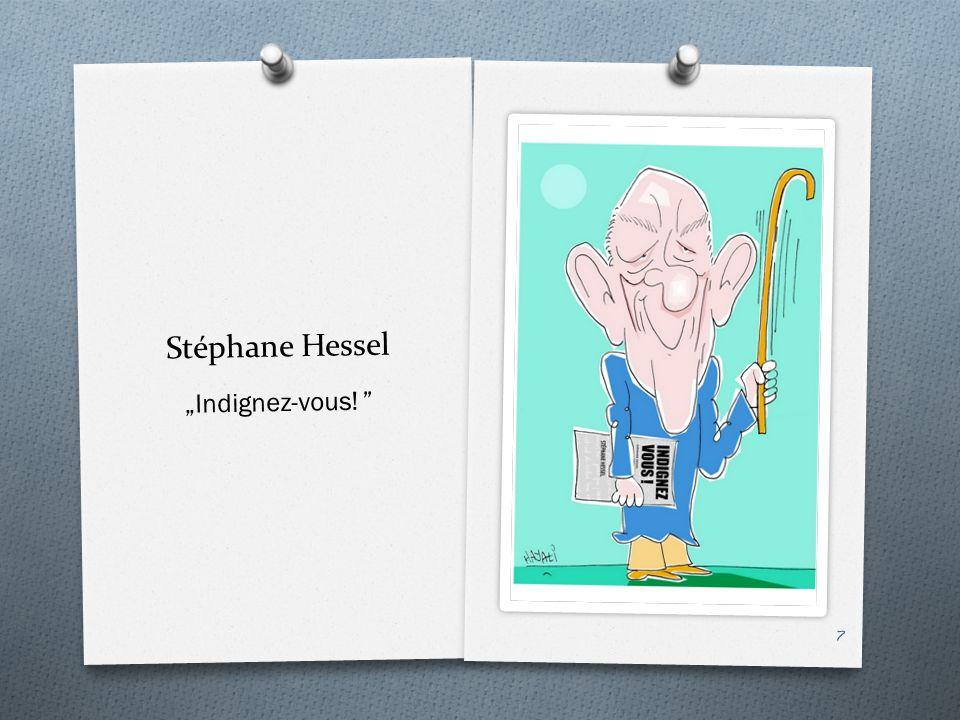 "Stéphane Hessel ""Indignez-vous! 8"