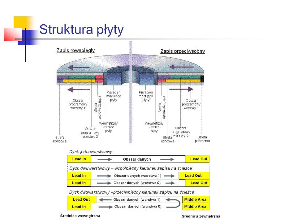 Struktura płyty