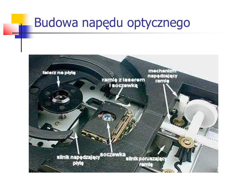 Budowa napędu optycznego