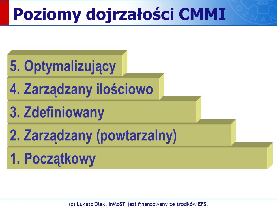 (c) Łukasz Olek. InMoST jest finansowany ze środków EFS. Rational RequisitPro