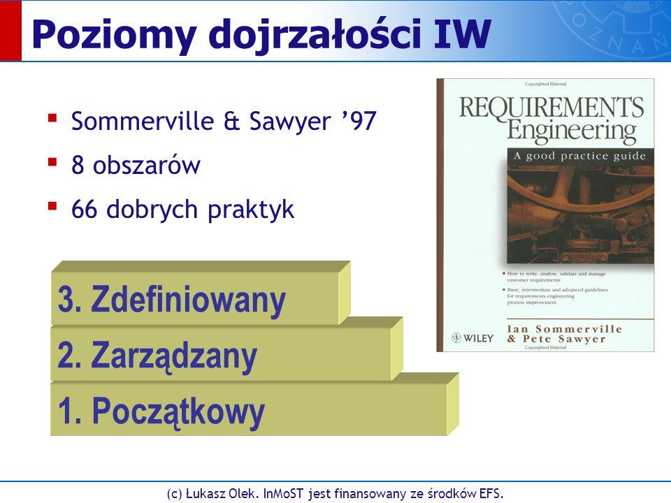 (c) Łukasz Olek. InMoST jest finansowany ze środków EFS. UC Workbench