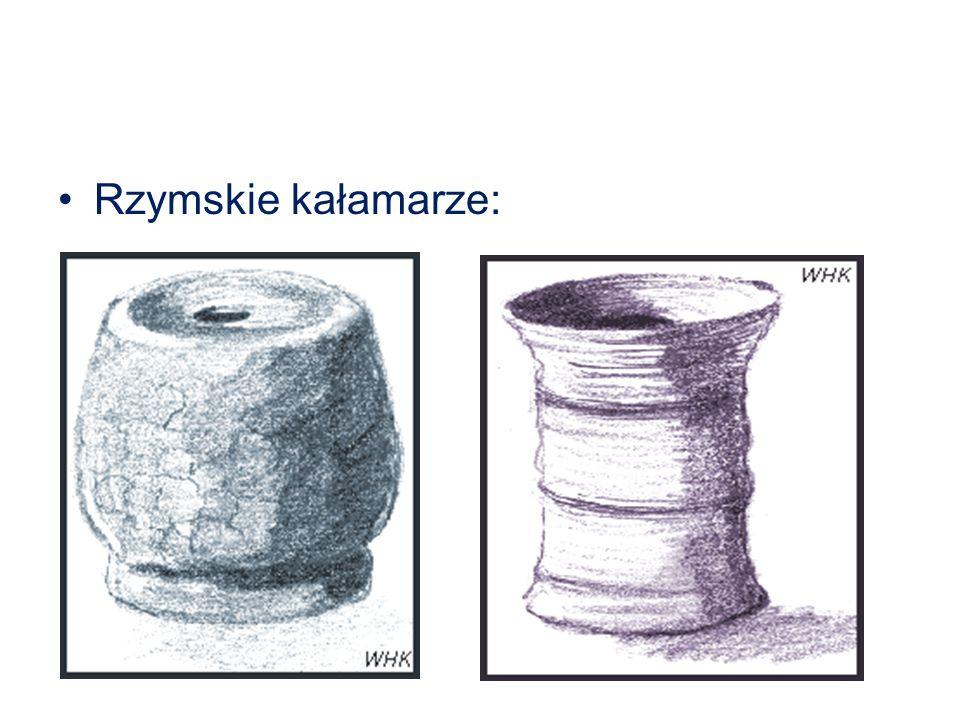 Rzymskie kałamarze: