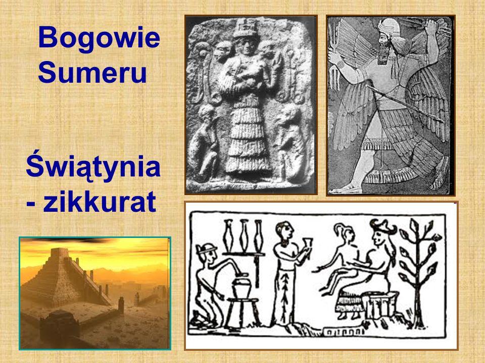 Bogowie Sumeru Świątynia - zikkurat