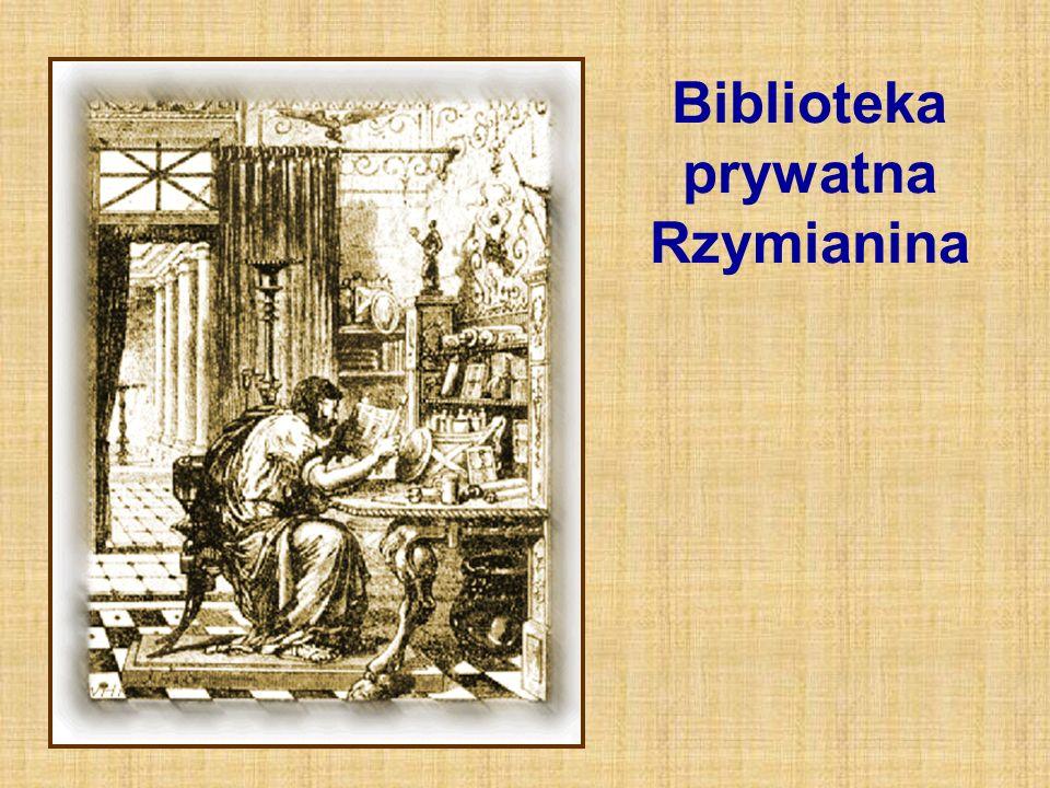 Biblioteka prywatna Rzymianina