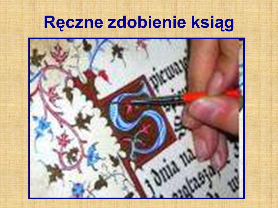 Ręczne zdobienie ksiąg