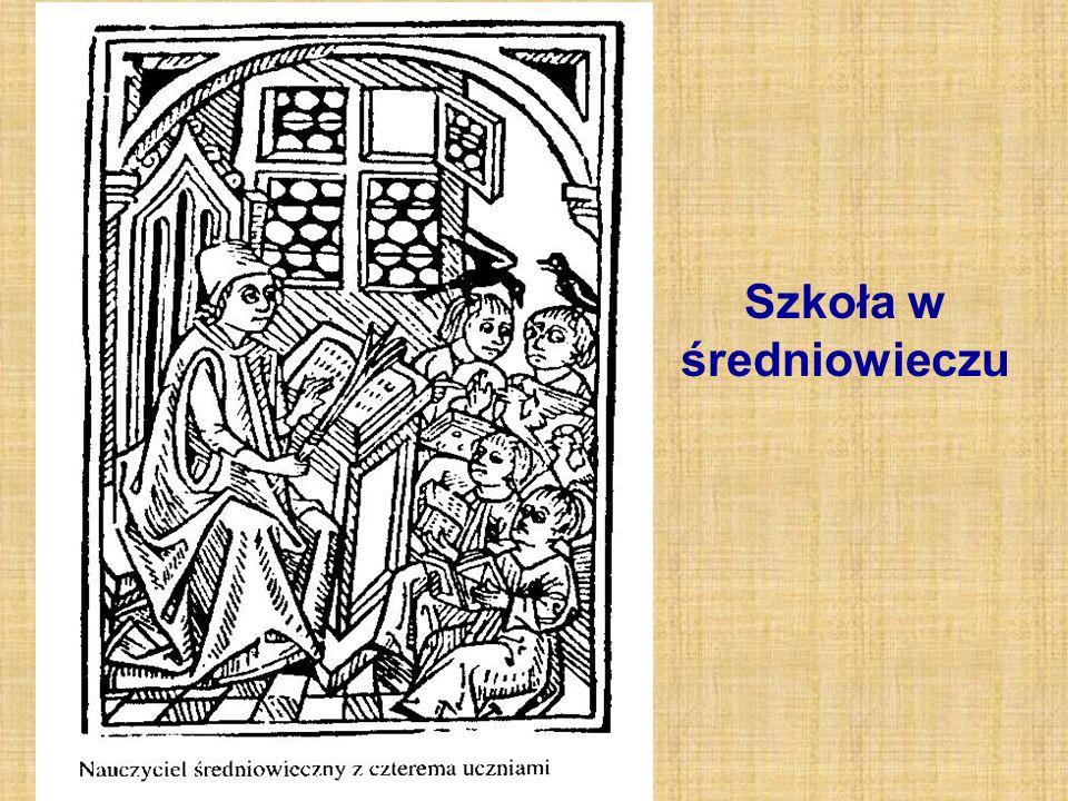 Szkoła w średniowieczu