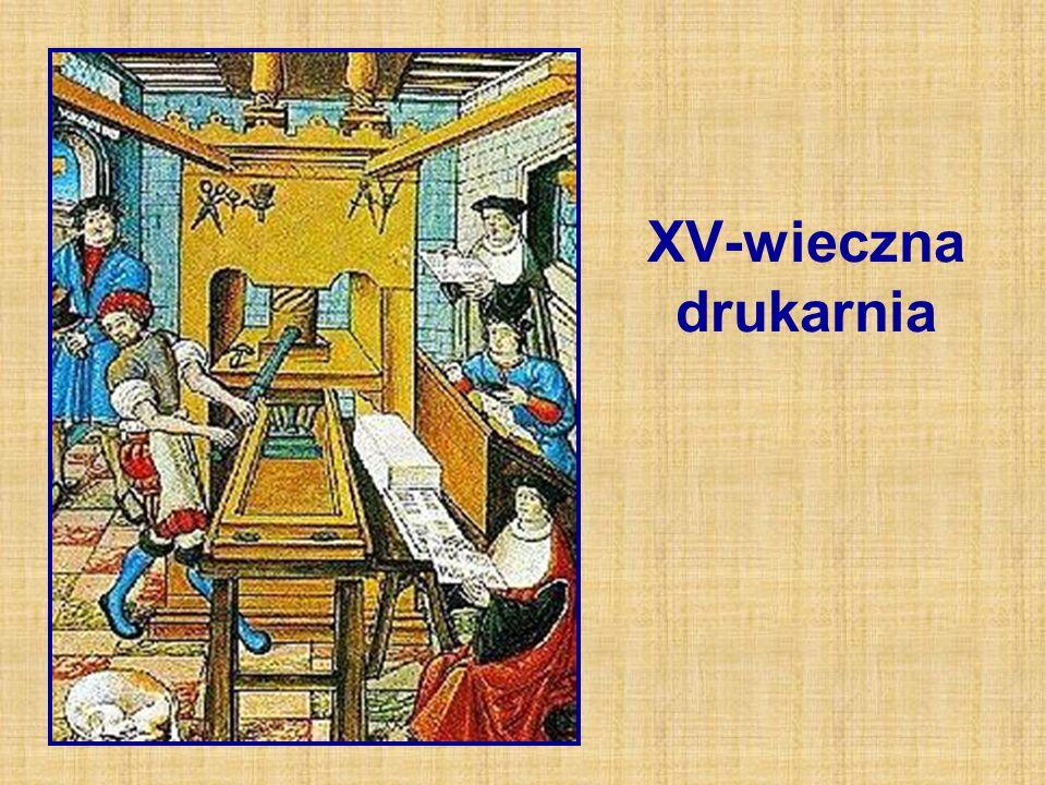 XV-wieczna drukarnia