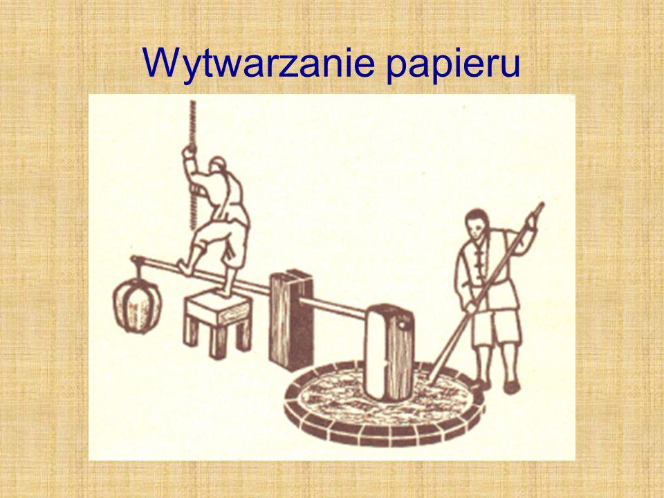 Wytwarzanie papieru