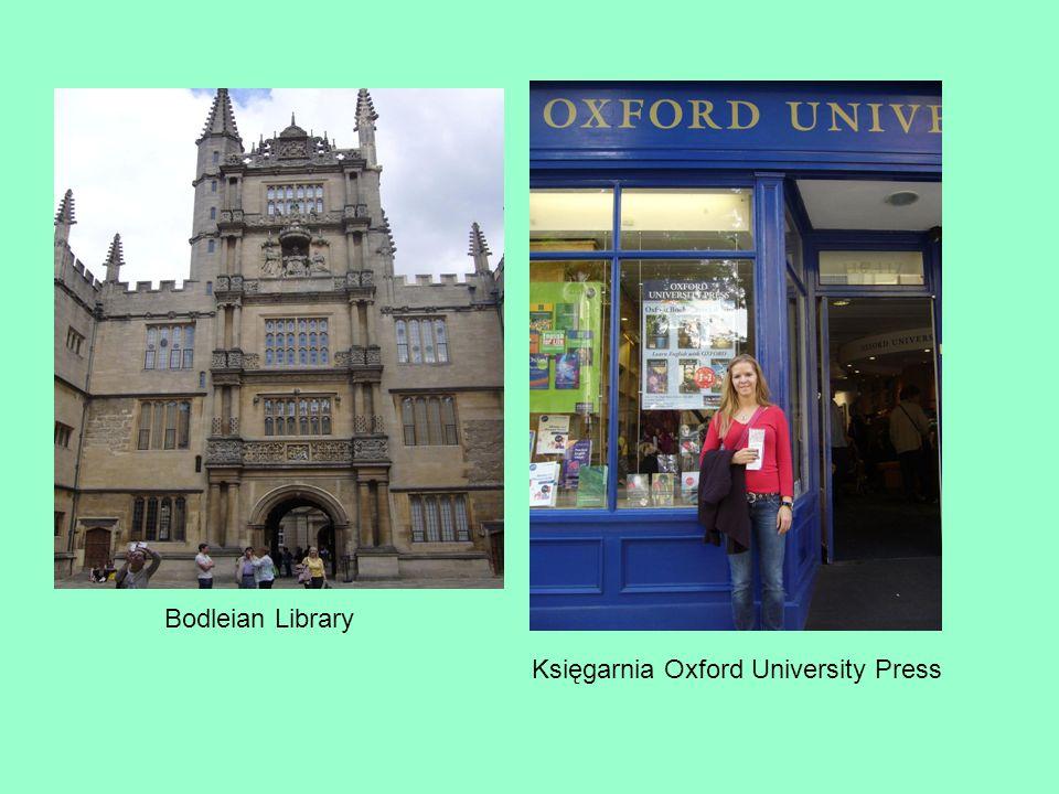 Bodleian Library Księgarnia Oxford University Press