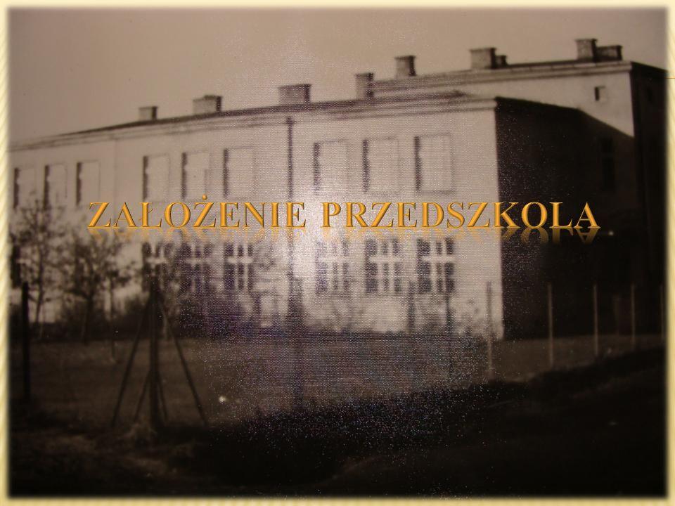 1947 r.Przedszkole Towarzystwa Przyjaciół Dzieci nr 5 w Mietniowie.