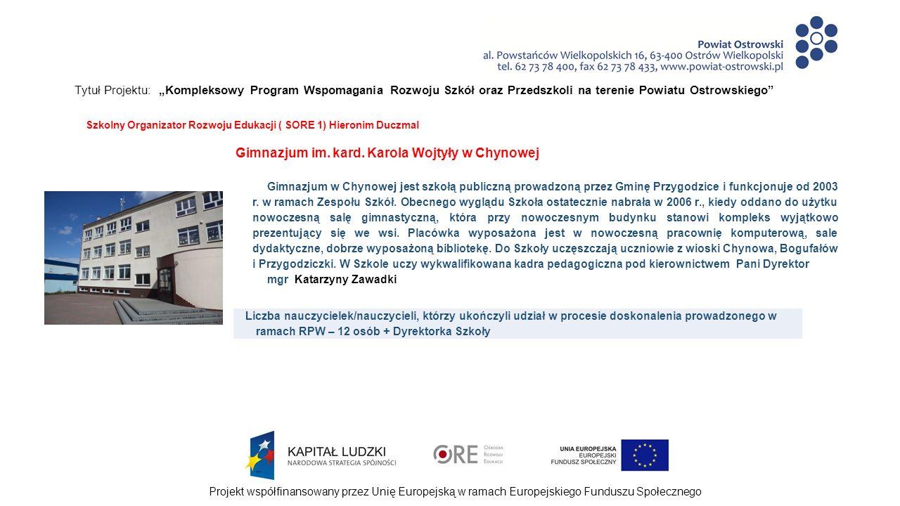 """Projekt współfinansowany przez Unię Europejską w ramach Europejskiego Funduszu Społecznego Tytuł Projektu: """"Kompleksowy Program Wspomagania Rozwoju Szkół oraz Przedszkoli na terenie Powiatu Ostrowskiego Wypracowane produkty w ramach realizacji Rocznego Planu Wspomagania """"Wspieranie pracy wychowawców klas – bezpieczna szkoła - 2013/2014 - przykładowa procedura interwencji wychowawczej ; - zestaw norm/zasad etycznych; - przykładowy katalog nagród i kar/konsekwencji."""