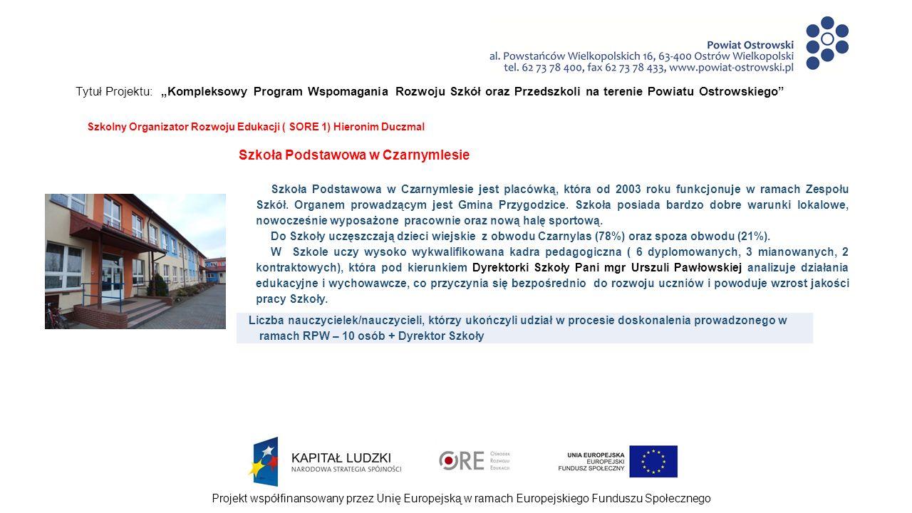 """Projekt współfinansowany przez Unię Europejską w ramach Europejskiego Funduszu Społecznego Tytuł Projektu: """"Kompleksowy Program Wspomagania Rozwoju Szkół oraz Przedszkoli na terenie Powiatu Ostrowskiego Wypracowane produkty w ramach realizacji Rocznego Planu Wspomagania """"Jak pomóc uczniowi osiągnąć sukces edukacyjnych – 2013/2014 - dwie strategie motywowania swoich uczniów do nauki ; - lista form oddziaływań psychologicznych zwiększających ambicje i motywację do nauki uczniów ; - dwie metody łączące teorię z praktyką."""