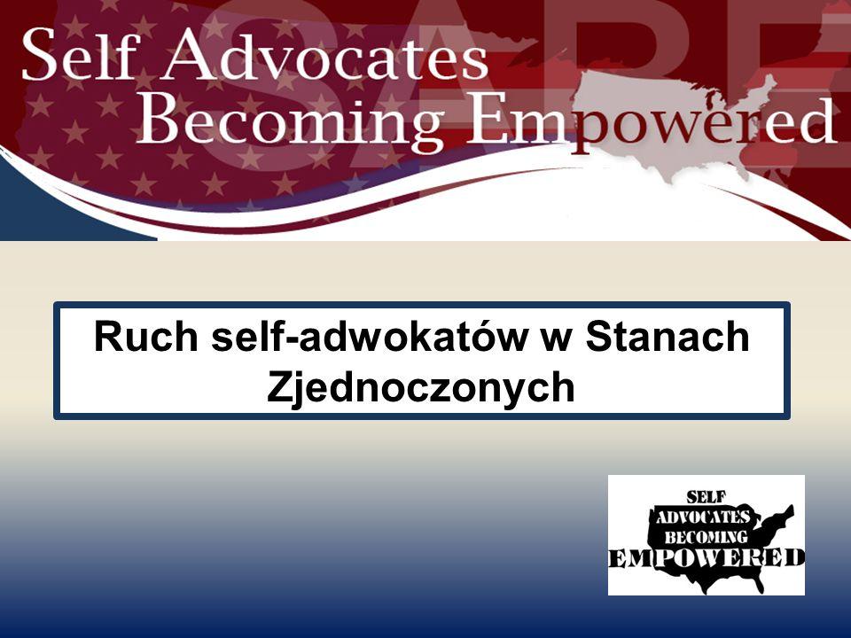 Ruch self-adwokatów w Stanach Zjednoczonych