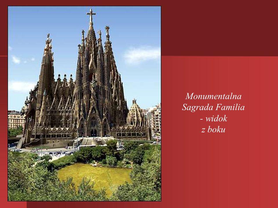 W założeniu Gaudiego konstrukcja budowli miała przypominać jeden, wielki organizm. Przez cztery dziesięciolecia pracował intensywnie nad konstrukcją,