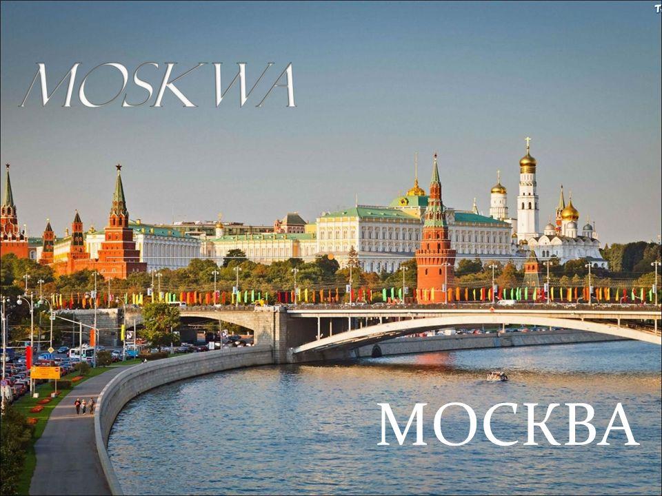 Moskwa (ros Москва) - stolica Rosji i największe miasto tego kraju.