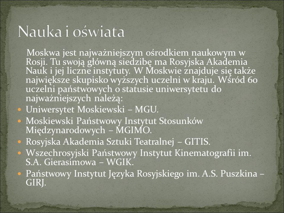 ZABYTKI MOSKWY
