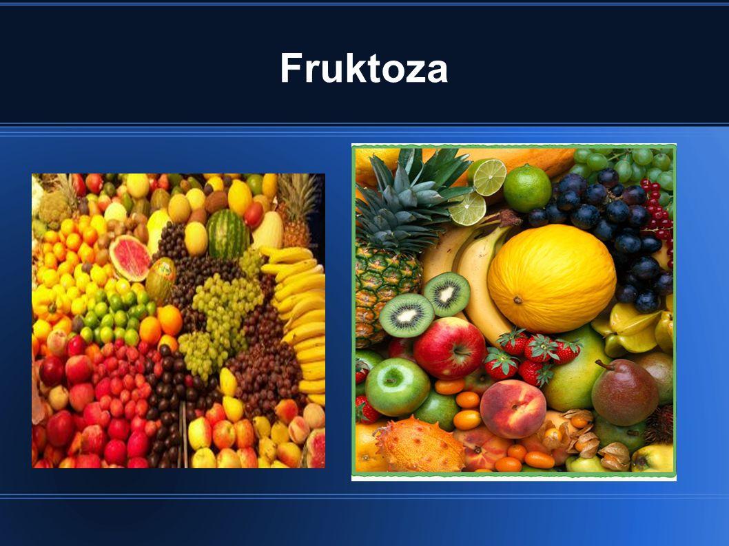 Glukoza Glukoza występuje w owocach, w największych ilościach w winogronach, w czarnych porzeczkach, figach, śliwkach, daktylach.