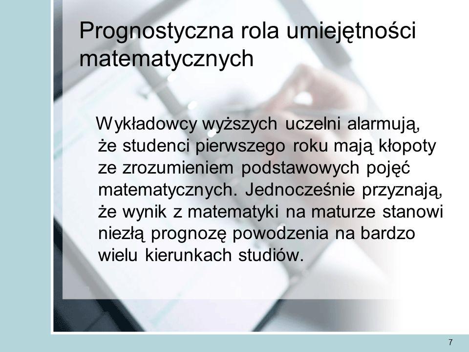 18 Strategia rozwiązywania zadania z matematyki jest podobna do rozwiązywania zadania z języka polskiego Przeczytać i zrozumieć temat (problem) Dobrać właściwe narzędzie Ułożyć plan swojego postępowania Przedstawić rozwiązanie